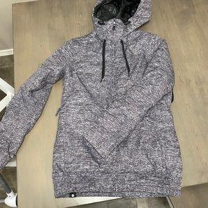 Roxy Winter Jacket- valley hoodie style